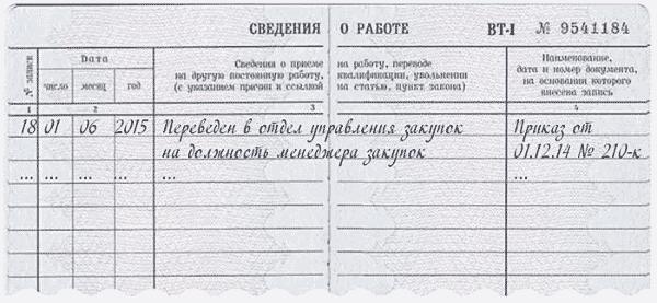 Примеры исправления ошибок в трудовой книжке: важные правила и действия