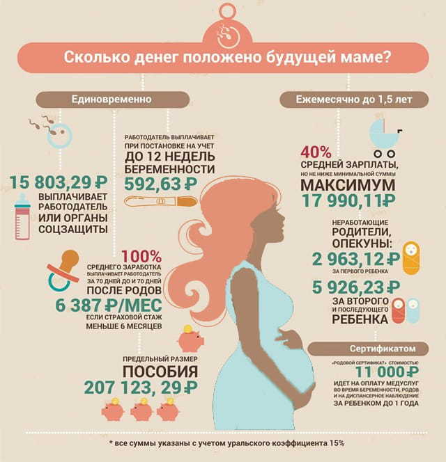 Основные этапы оформления дополнительного отпуска по беременности и родам