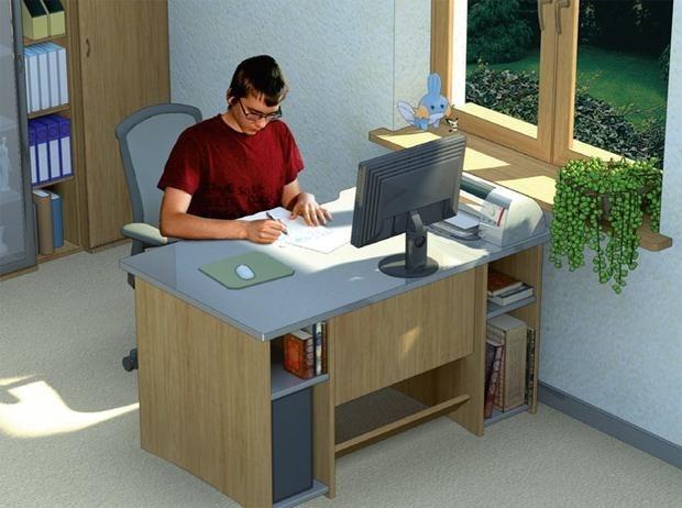 Освещение рабочего места за компьютером и его правильная организация